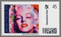 James Francis Gill, Stamp 09/10, Marilyn Monroe, Pink Marilyn